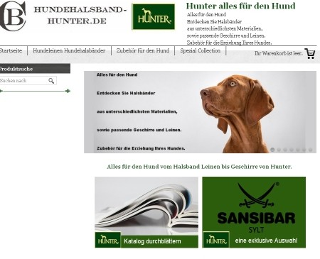 Hundehalsband Hunter